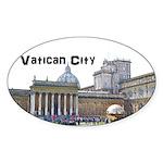 Vatican City Sticker (Oval)