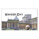 Vatican City Sticker (Rectangle)