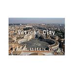 Vatican City Rectangle Magnet (100 pack)