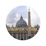 "Vatican City 3.5"" Button (100 pack)"