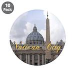 "Vatican City 3.5"" Button (10 pack)"