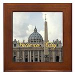 Vatican City Framed Tile