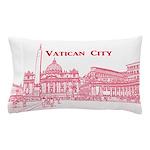 Vatican City Pillow Case