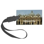 Vatican City Large Luggage Tag