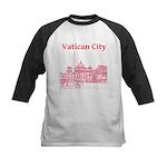 Vatican City Kids Baseball Jersey