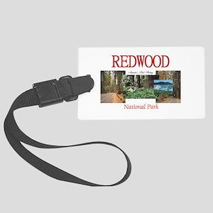 Redwood Americasbesthistory.com Large Luggage Tag