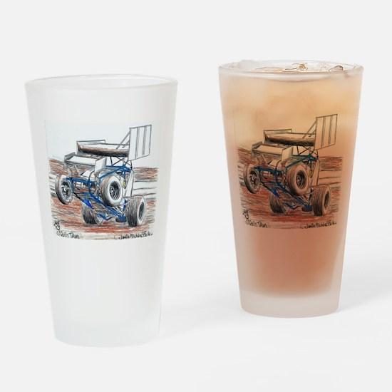 Wheel stand Drinking Glass