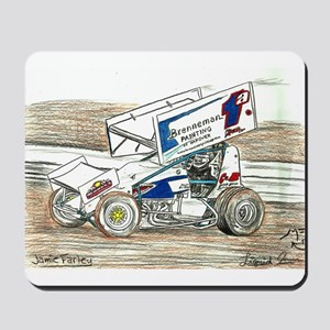 Sprints at Lincoln Mousepad