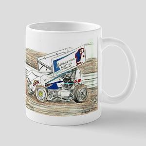 Sprints at Lincoln Mug