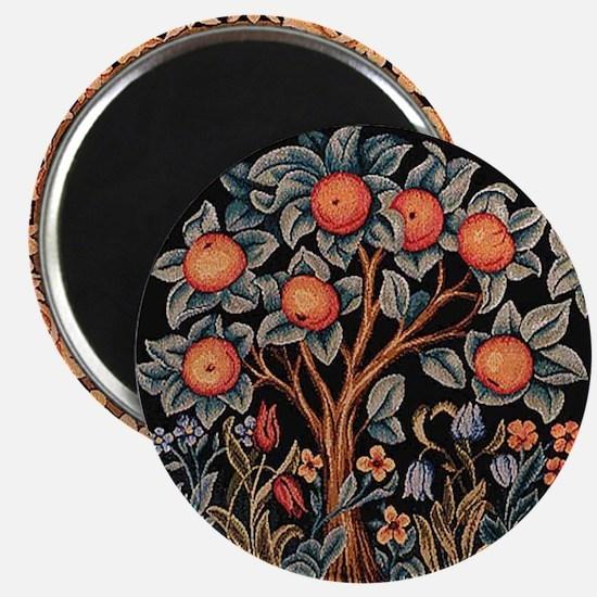 Orange Tree of Life Magnet