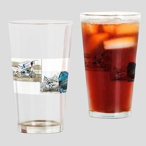The Allen Gang Drinking Glass