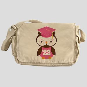 2022 Owl Graduate Class Messenger Bag