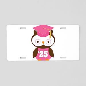 2025 Owl Graduate Class Aluminum License Plate