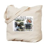 1-25 fallen 15:13 Tote Bag