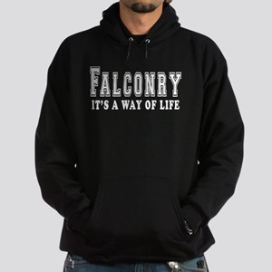 Falconry It's A Way Of Life Hoodie (dark)