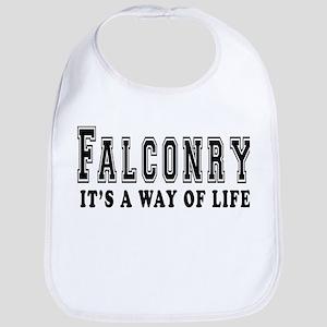 Falconry It's A Way Of Life Bib