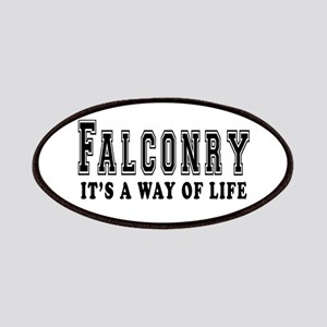Falconry It's A Way Of Life Patches
