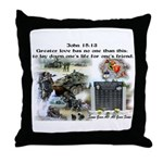 1-25 fallen 15:13 Throw Pillow