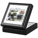 1-25 fallen 15:13 Keepsake Box