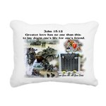 1-25 fallen 15:13 Rectangular Canvas Pillow