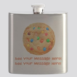 Personalize It, Chocolate Cookie Flask