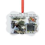1-25 fallen 15:13 Ornament