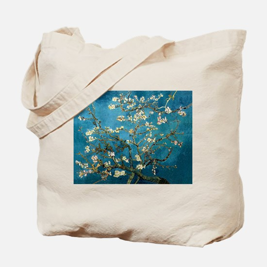 Blossoming Almond Tree, Vincent van Gogh Tote Bag