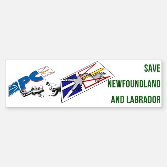 Save NL Bumper Bumper Bumper Sticker