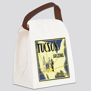 Tucson Arizona Canvas Lunch Bag