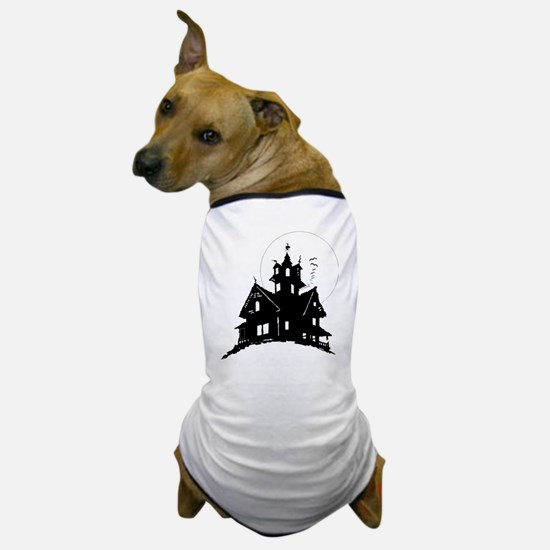 haunted house Dog T-Shirt