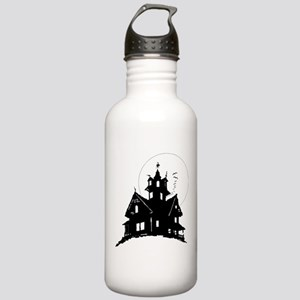 haunted house Water Bottle