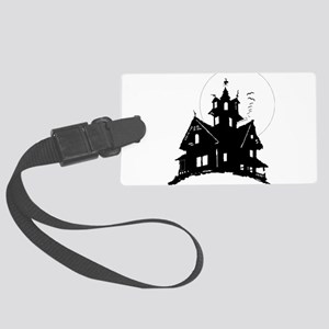 haunted house Luggage Tag