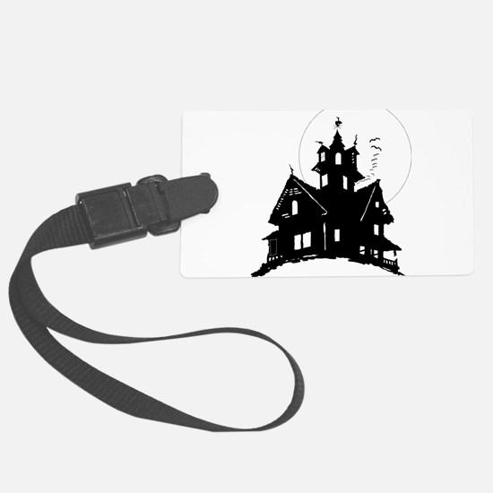 haunted house Luggage Tag
