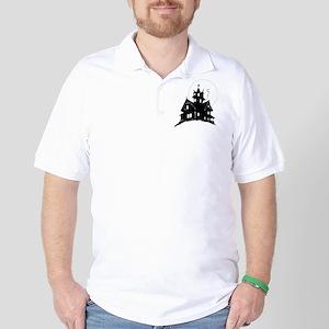 haunted house Golf Shirt