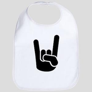 Rock Metal Hand Bib