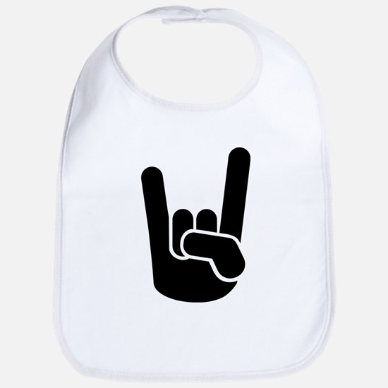Rock Metal Hand Bib