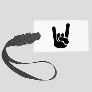 Rock Metal Hand Large Luggage Tag
