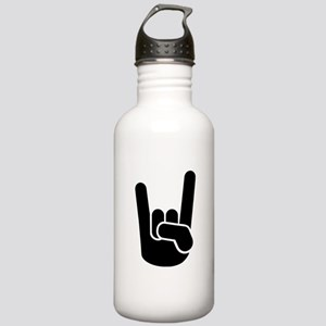 Rock Metal Hand Stainless Water Bottle 1.0L