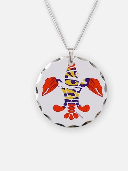 LSU Crawfish Necklace