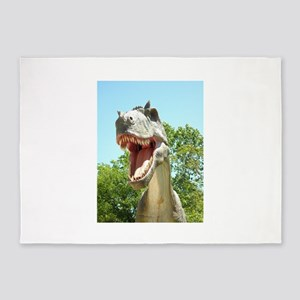 Dinosaurs T-Rex 5'x7'Area Rug