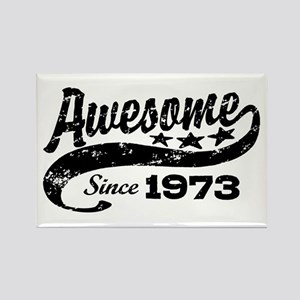 Awesome Since 1973 Rectangle Magnet