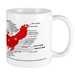 WWII firebombing of Japan mug
