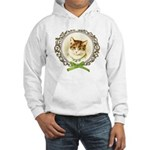 Vintage cute kitten Jumper Hoody