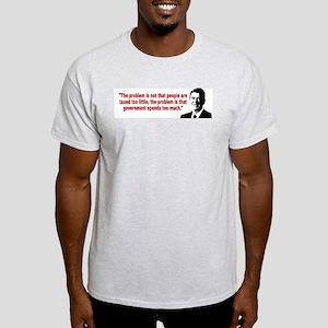 Ronald Reagan Quotes Light T-Shirt