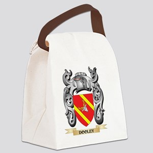 Dooley Coat of Arms - Family Cres Canvas Lunch Bag