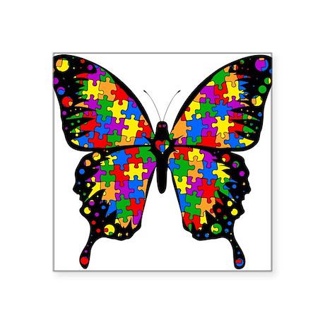 Autism Butterfly Sticker