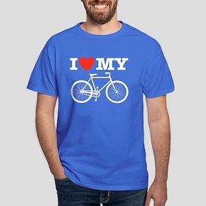 I Love My Bicycle Dark T-Shirt