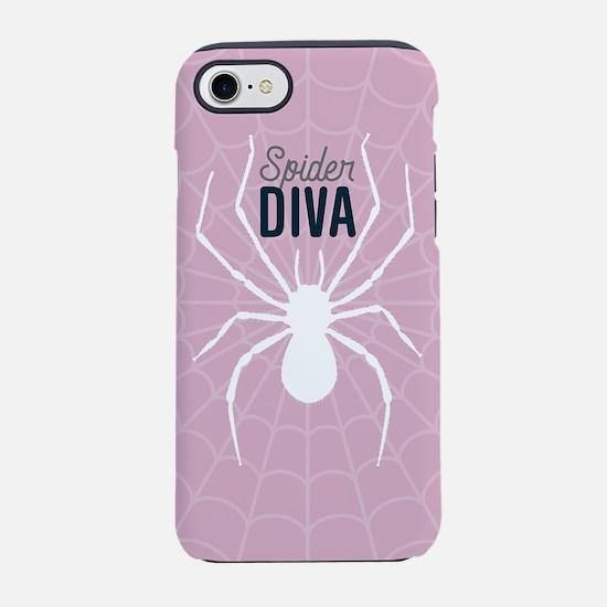 Spider Diva iPhone 7 Tough Case
