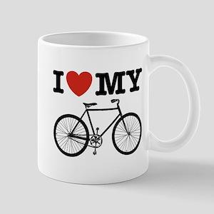 I Love My Bicycle Mug