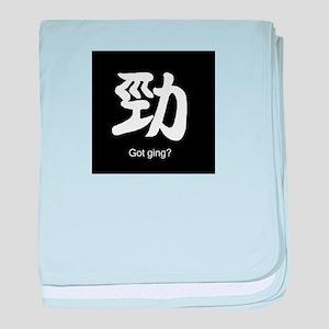 Got ging? baby blanket